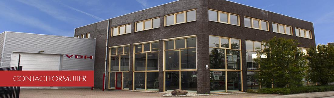 Gebouw showroom Utrecht