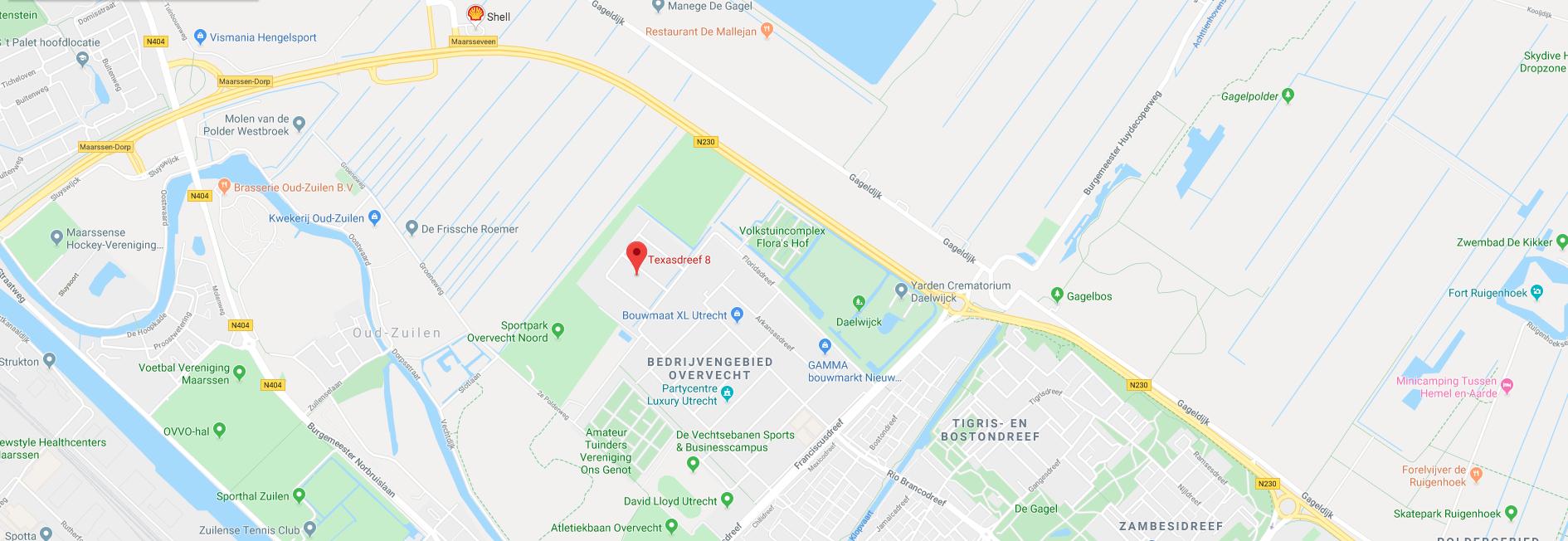 Adres/Locatie VDH Machines Utrecht