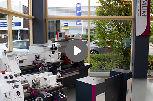 VDH Machines - Showroom Utrecht