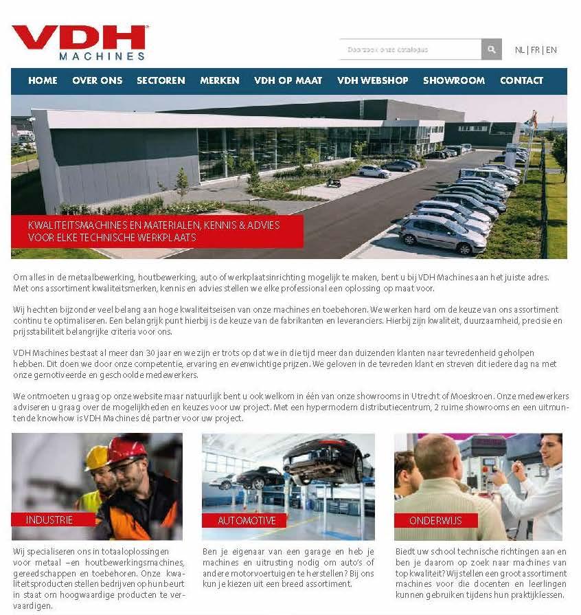 VDH op maat - vdhmachines.com